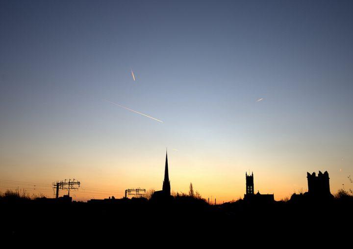 A morning sky in Preston Pic: Tony Worrall