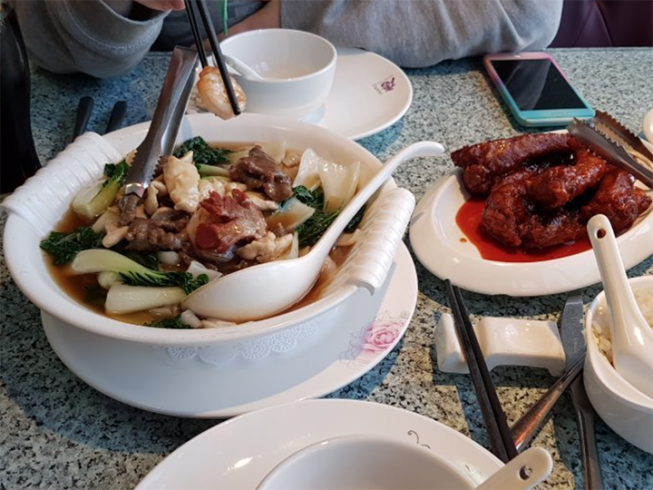 Some of the food from Azuma Pic Adrian B