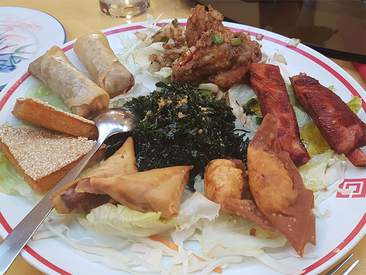 A platter from Beijing Chinese Restaurant Pic: J9Hindz