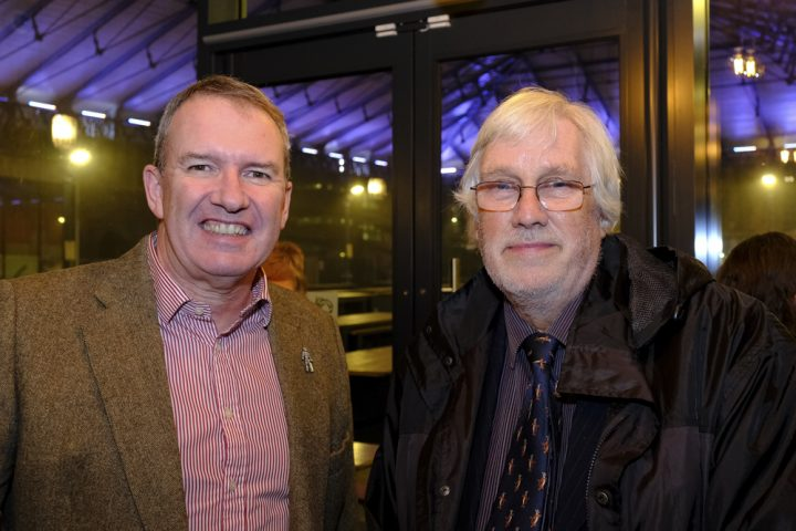 Michael Conlon and Councillor Neil Cartwright