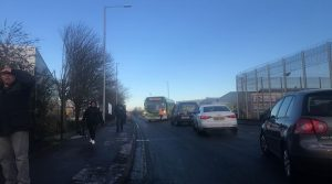 The traffic in Ribbleton Lane Pic: Shallow Photography