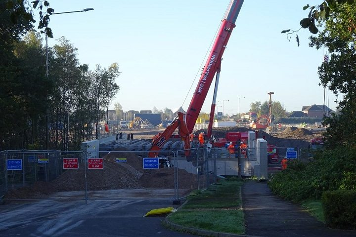 Work on The Cawsey, off Leyland Road Pic: Central Lancashire Plannezine