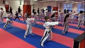 The Nippon UK dojo putting youngsters through their paces
