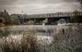 A cold and frosty morning on the River Ribble Pic: Martin Saunders