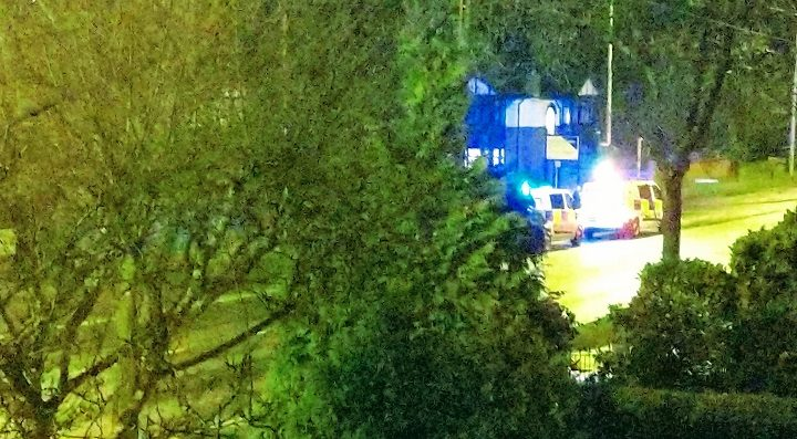 Police presence in Garstang Road Pic: Blog Preston