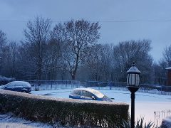 A very snowy Holme Slack Pic: Angie Worrall