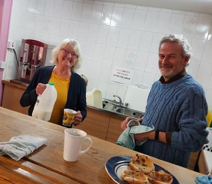Volunteers get a brew on at LUV Preston Pic: Luke Parkinson/Blog Preston