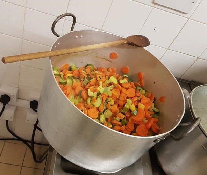 Making soup at LUV Preston Pic: Luke Parkinson/Blog Preston