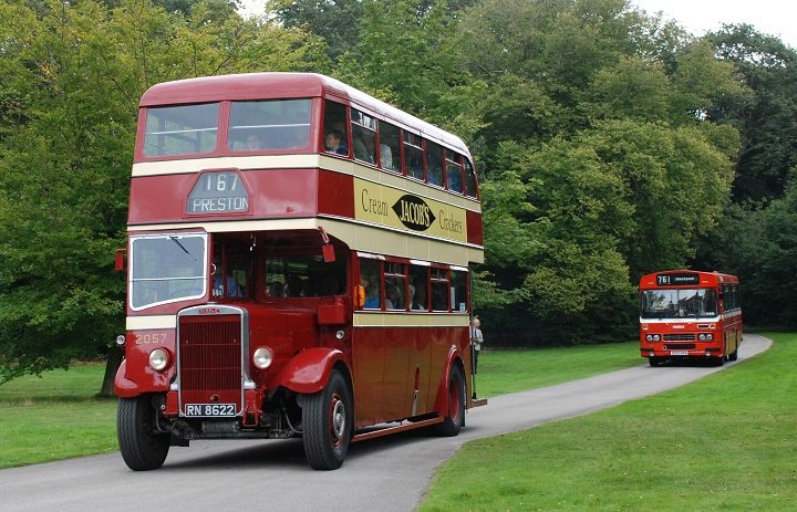 Ribble buses on a trip out