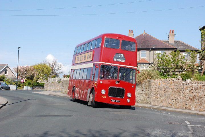 A Ribble bus heading for Heysham Pic Ribble Enthusiasts' Club