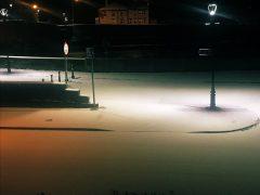 Snow in Broadgate Pic Neetal Parekh