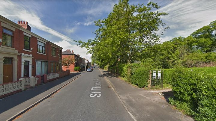 St Thomas Road where the robbery took place Pic: Google