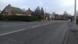 The pensioner fell into the road close to Tag Lane in Ingol Pic: Blog Preston