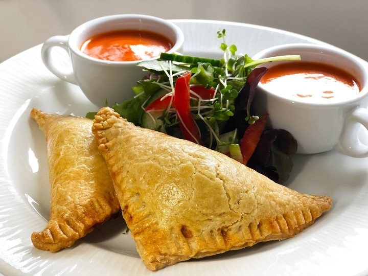 Pasty and soup at The Mill Pic: St Catherine's Hospice/The Mill