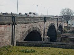 The woman had been going to jump from the side of the bridge on the A6 at Walton-le-Dale into the River Ribble Pic: 70023venus2009