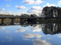 The Old Tram Bridge is shut indefinitely following a safety inspection Pic: Tony Worrall
