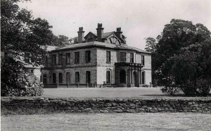 The lodge at Ashton House in Ashton Park Pic: Preston Digital Archive