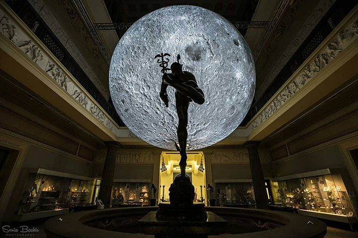 The Museum of the Moon at the Harris Pic: Sonia Bashir