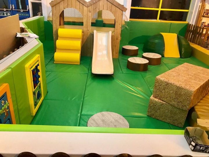 One of the toddler areas at the Kinder Hub