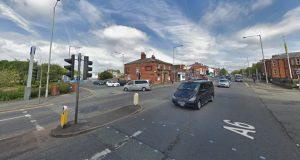 The incident took place at the junction of Aqueduct Street and Garstang Road Pic: Google