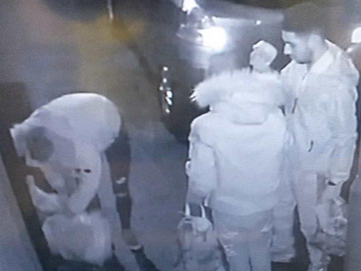 Three men shown in CCTV released by Preston City Council
