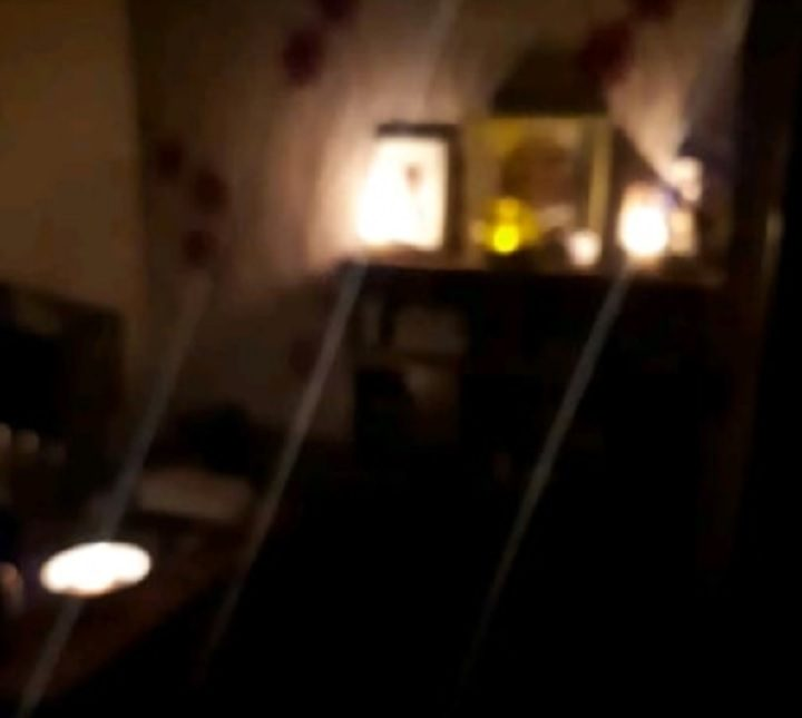 One resident has been left living by candle light