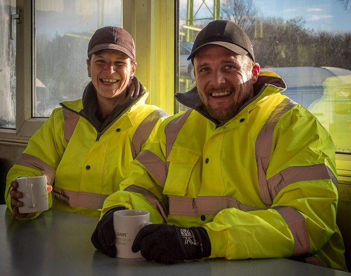 Tina and Dean have both been helped by the re-offending project