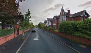 Highgate Avenue where the incident took place Pic: Google