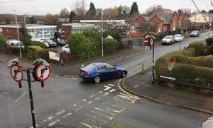 Holmfield Road is one-way Pic: Blog Preston