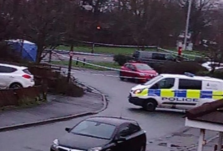 Police presence in Moor Nook Pic: Blog Preston