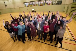 One Billion Rising event at UCLan