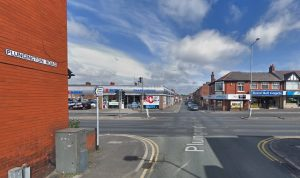 Resurfacing work is needed at the junction of Plungington Road and Blackpool Road Pic: Google