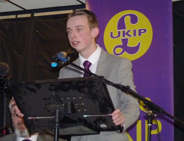 Sebastian Walsh is a member of UKIP
