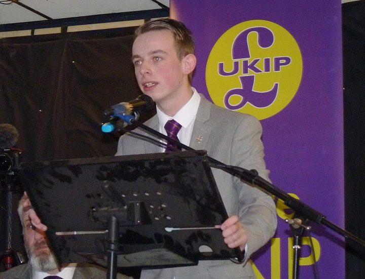 Sebastian Walsh is a member of UKIP
