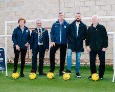 Mayor of Preston councillor Trevor Hart joined the Shankly and Finney teams to launch the partnership
