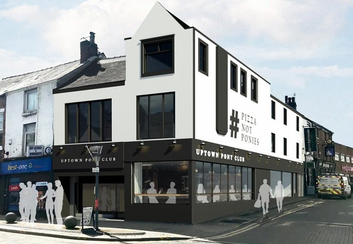 How the new bar and co-working space would look in Friargate Pic: Studio John Bridge