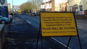 Watling Street Road will be closed at the junction with Sharoe Green Lane Pic: Blog Preston