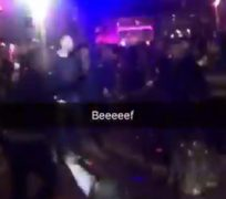 The clip of the fight has been circulating on Facebook