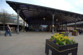 The Preston Market Hall Pic: Tony Worrall