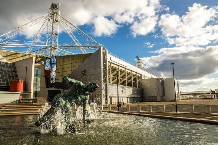 Deepdale the home of Preston North End Pic: Gary Bond