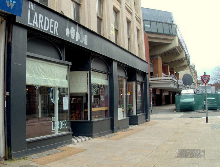 The Larder, a community run cafe and outreach project in Lancaster Road, is the kind of business the city council wants to encourage Pic: Tony Worrall