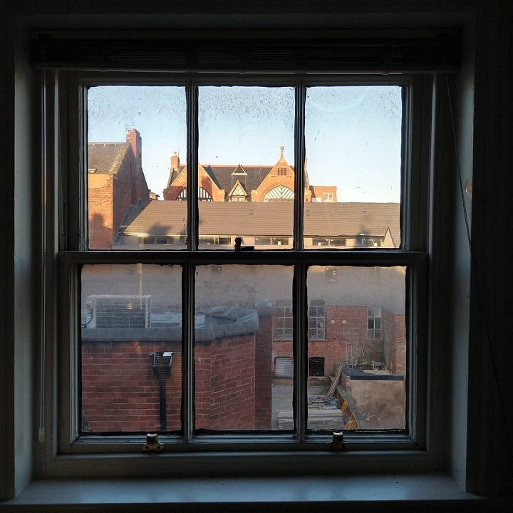 The view over to Union Lofts and Fives bar from 6 Winckley Square Pic: Blog Preston