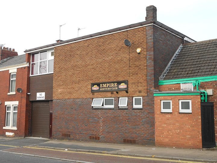 The Empire Services Club in Hartington Road Pic: User Rept0n1x at Wikimedia Commons