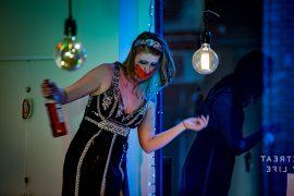 Performance artist Frances Kay Pic: Michael Porter