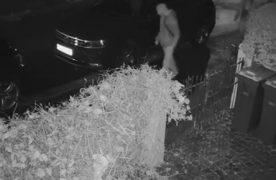 Car being keyed in Fulwood Pic: Preston Police