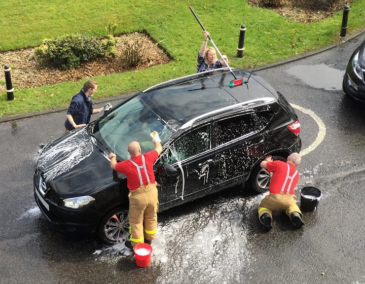 Firefighters To Do Fulwood Charity Car Wash Blog Preston
