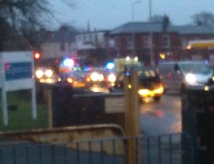 Emergency services could be seen in Garstang Road, from Lytham Road Pic: Jason Anderson/Blog Preston