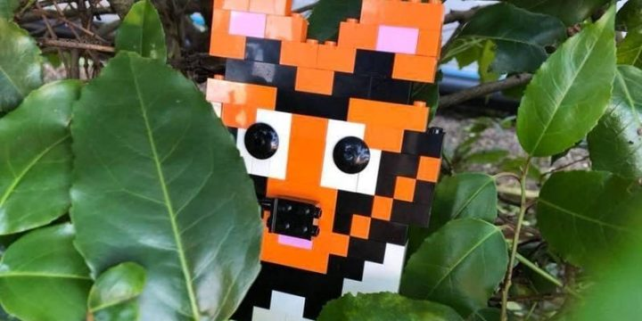 The workshops allow children to get creative and create Lego animals