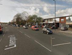 The incident began outside the Spar shop in Penwortham Pic: Google