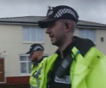 PC Mike Simpson out on patrol Pic: Preston Police